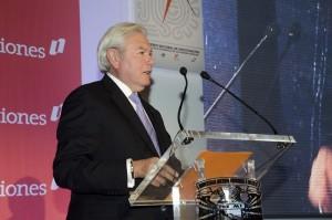 Carlos Rojo en lanzamiento del Premio Nacional de Finanzas Estatales