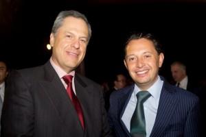 Carlos Rojo Macedo en el lanzamiento del Premio Nacional de Finanzas Estatales