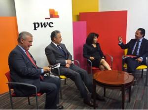 Carlos Rojo Macedo en la 6a encuenta CEO de PwC