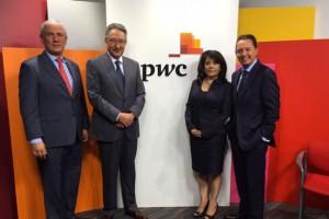 Carlos Rojo en la 6a encuenta CEO de PwC