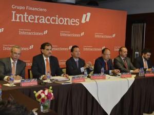 Carlos RojoMacedo enPresentacion de Resultados 2T15
