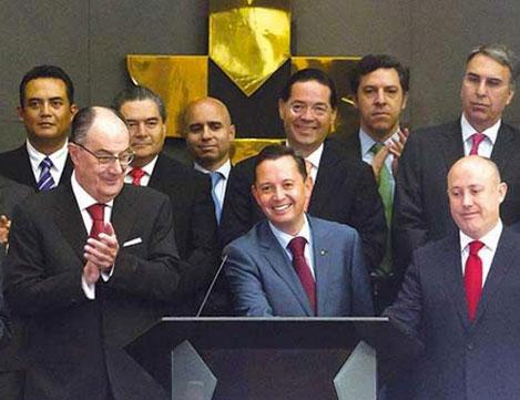 Grupo Financiero Interacciones planea invertir en obras 22 mil mdp.