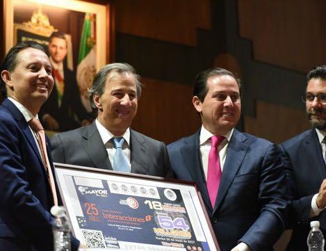SDP Noticias – Festejan SHCP y Lotenal 25 Aniversario del Grupo Financiero Interacciones
